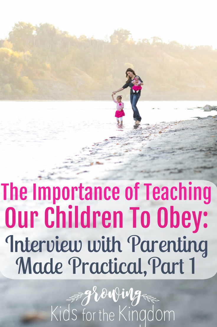 Teaching kids to obey