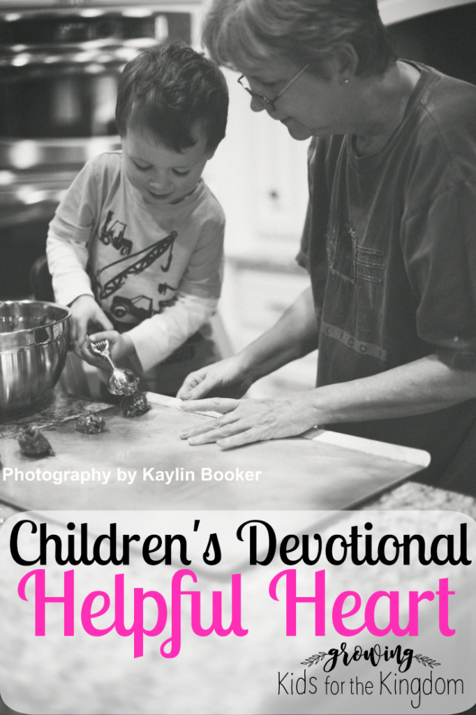 Children's Devotional Helpful Heart