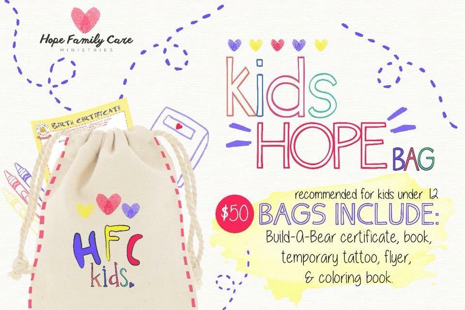 Kids Hope Bags