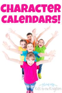 Character Calendars