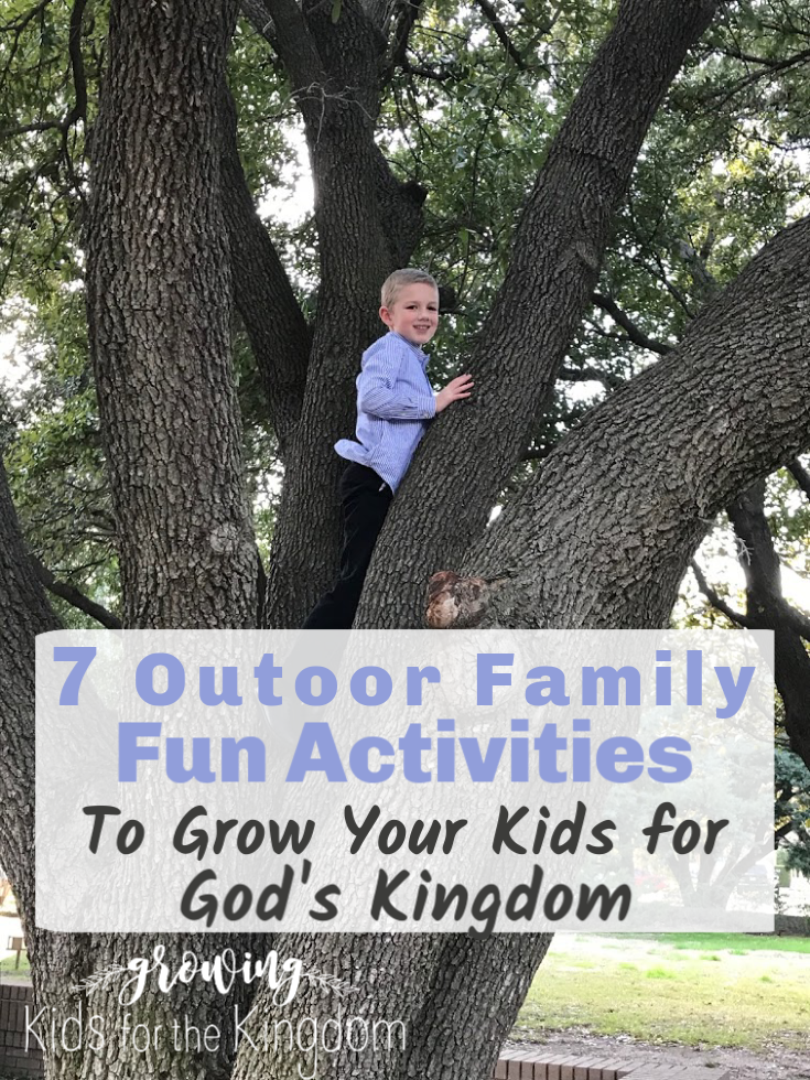 7 Outdoor Family Fun Activities